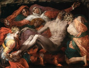 ROSSO Fiorentino, Piéta, Louvre, pour Ecouen