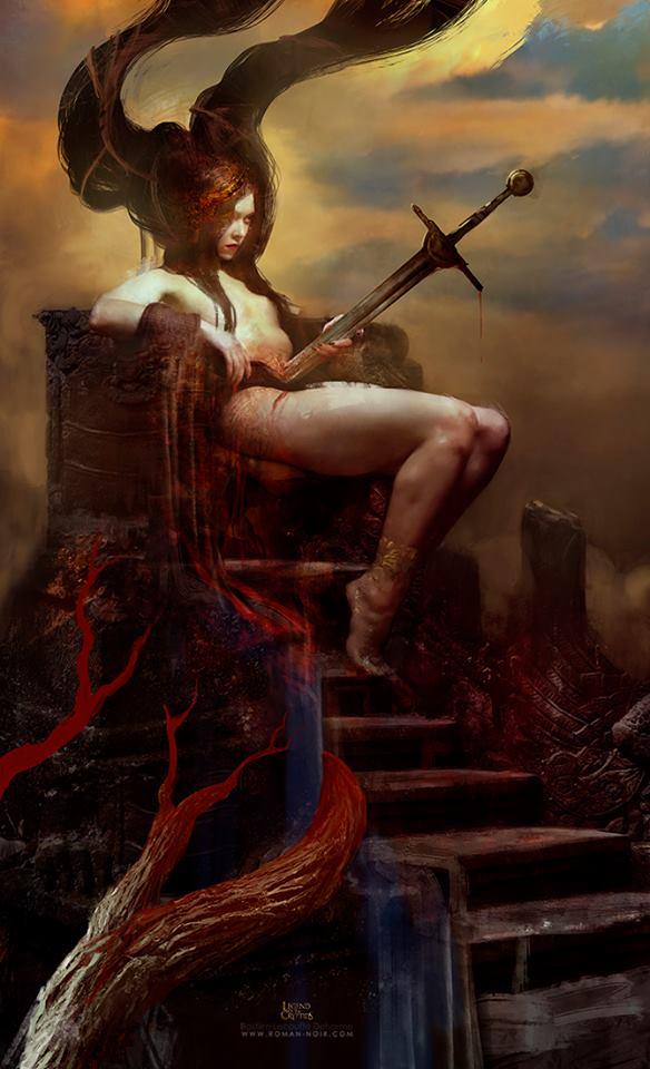 The Impaled Queen _ feb. 2015, Bastien Lecouffe Deharme _ version censurée
